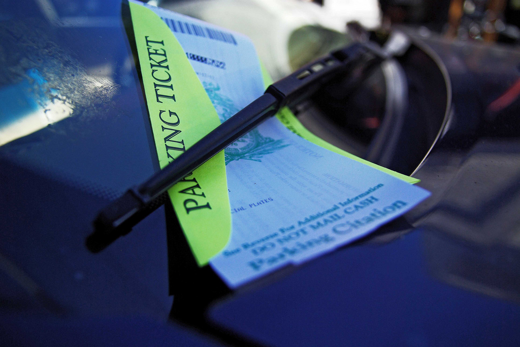parking tickets lowers credit score